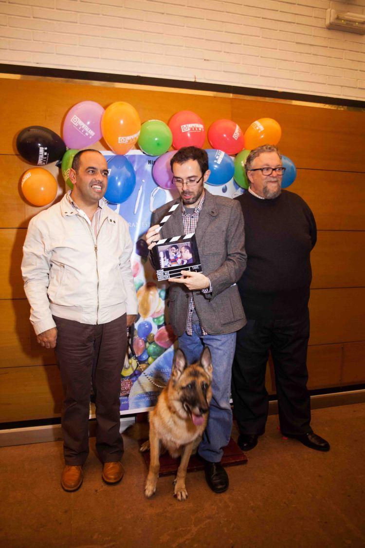 10.Manuel Rey, Fran Estévez, Tacho González y Luna. Estreno corto Idiotas