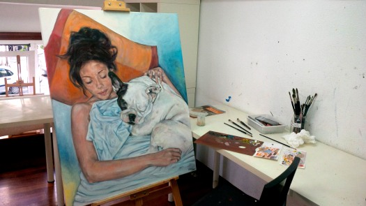 Eila Pérez Vázquez, colectivo Arte Miúda 2014. EILArts