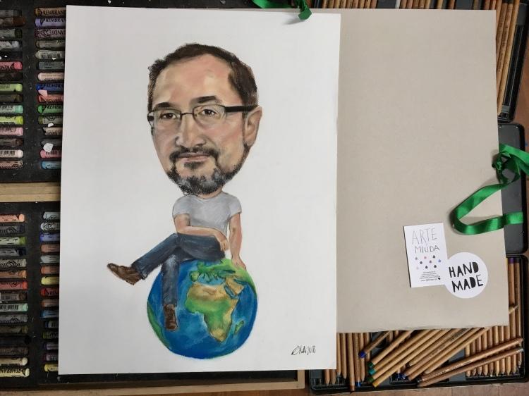 Artwork by Eila Pérez Vázquez. Eila Moon